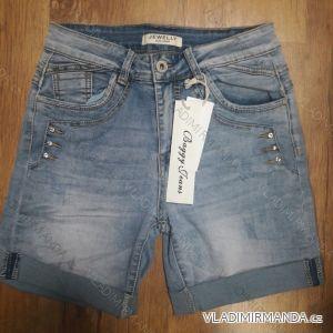 Kraťasy šortky riflové dámské (XS-XL) JEWELLY LEX19S6389