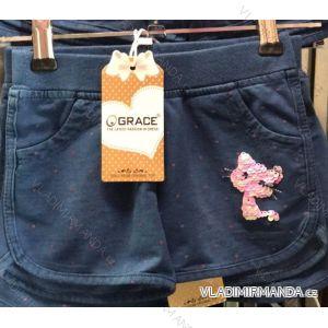 Šortky kraťasy dětské dívčí (98-128) GRACE GRA19003