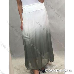 Sukně dámská dlouhá ombré (oni s/m) ITALSKá MóDA IM519032