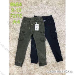 Kalhoty plátěné dětské dorost chlapecké (3-13 let) SAD SAD19BK64