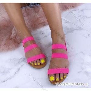 Sandále elegantní dámské neonové (36-41) WSHOES OBUV OB219236