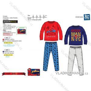 Pyžamo dlouhé spiderman dětské chlapecké (3-8 let) SUN CITY HS2039