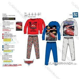 Pyžamo dlouhé cars dětské chlapecké (3-8 let) SUN CITY HS2205