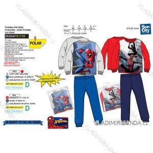 Pyžamo dlouhé spiderman dětské chlapecké (3-8 let) SUN CITY HS2047