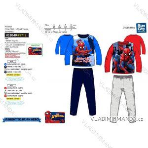 Pyžamo dlouhé spiderman dětské chlapecké (3-8 let) SUN CITY HS2040