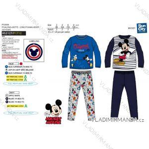 Pyžamo dlouhé mickey mouse dětské chlapecké (3-8 let) SUN CITY HS2127