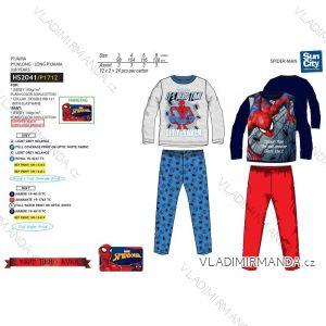 Pyžamo dlouhé spiderman dětské chlapecké (3-8 let) SUN CITY HS2041