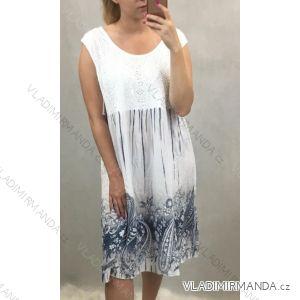Šaty dámské bez rukávů (uni s/m) ITALSKá MóDA IM419802