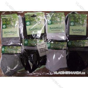 Ponožky slabé kotníkové bambusové pánské (40-43,43-46) ELLASUN LOM539