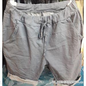 Kalhoty 3/4 krátké dámské (UNI XS-M) ITALSKÁ MÓDA IM119228