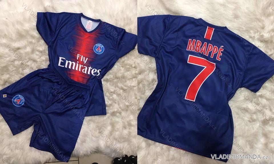 91565ff85 Fotbalový dres tričko kraťasy paris saint-germain mbappé 7 (116-2xl)  FOTBAL032