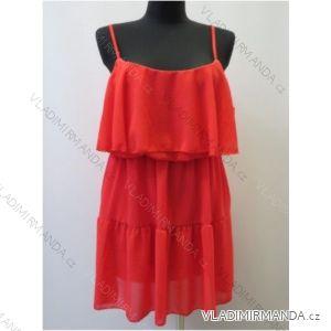Šaty krátké letní dámské na ramínka (uni s-l) ITALSKá MODA IM15190705H34