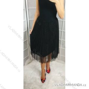 Sukně elegantní dlouhá dámská (uni s-l) ITALSKá MóDA IM31819006/DR