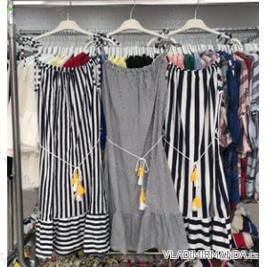 Šaty krátké letní dámské (uni s-l) ITALSKá MODA IM15190107Y11/dr