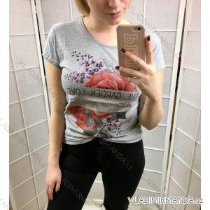 Tričko krátký rukáv dámské (m-xl) Turecká móda Namso IM1019005