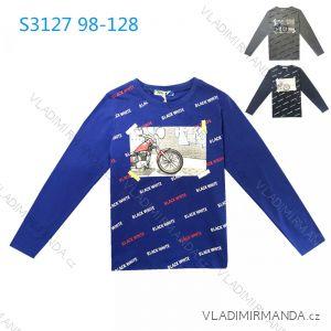 Tričko dlouhý rukáv dětské chlapecké (98-128) KUGO S3127