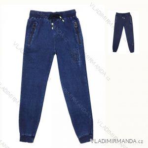 Rifle jeans dorost chlapecké (134-164) KUGO M01017