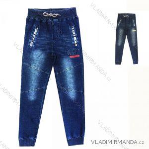 Rifle jeans dorost chlapecké (134-164) KUGO YZ8108