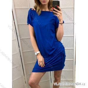 Šaty letní krátký rukáv dámské (uni s/m) MODA ITALY IM319311
