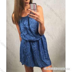 Šaty letní na ramínka dámské (uni s/m) ITALSKá MóDA IM7198312