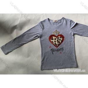 Tričko dlouhý rukáv dětské dorostenecké dívčí (116-146) SEZON Y-3305