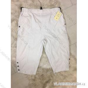 Kalhoty 3/4 plátěné pružné dámské (38-52) GETFORMY GET19k-8828