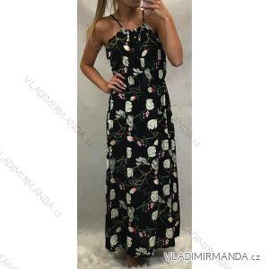 Šaty letní dlouhé dámské (uni s/m) TURECKá MóDA TM919DZ-7968