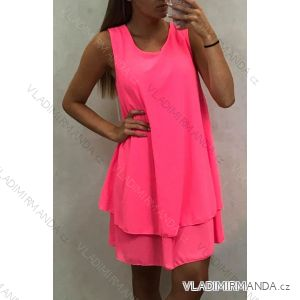 Šaty tenké dámské letní neon (uni m/l) ITALSKá MóDA IM419681