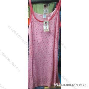 Košile noční na ramínka letní dámská (m-2xl) YN. LOT 799