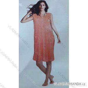 Maxi tričko bez rukávu dámské nadrozměrné s kapsami (l-5xl) YN.LOT IM101328YN