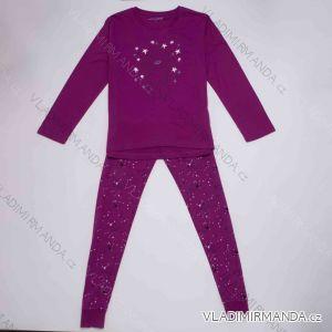 Pyžamo dlouhý rukáv a nohavice dámské (m-2xl) WOLF D2944