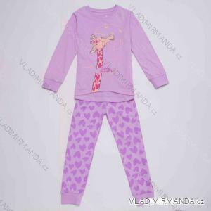 Pyžamo dlouhé dětské a dorost dívčí (104-134) WOLF S2952