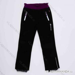 Kalhoty softshellové zateplené flaušem dorost dětské dívčí (116-146) WOLF B2992