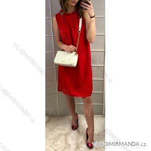 Šaty letní bez rukávů dámské viskozové (uni s/m) ITALSKá MóDA IM719252