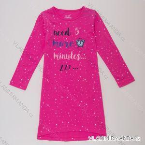 Noční košile s dlouhým rukávem dětská dorost dívčí (116-146) WOLF S2984