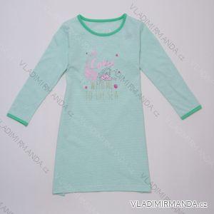 Noční košile s dlouhým rukávem dětská dorost dívčí (116-146) WOLF S2983