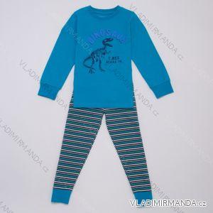 Pyžamo dlouhé dětské a dorost chlapecké (104-134) WOLF S2955