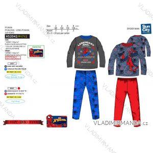 Pyžamo dlouhé spiderman dětské chlapecké (3-8 let) SUN CITY HS2042