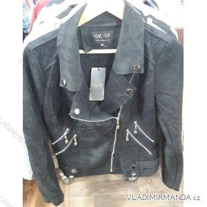 Bunda broušená koženka dámská (s-xl) HF Woman collection IM9191904