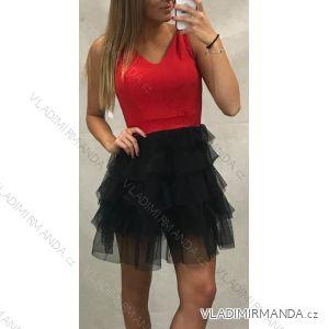 Šaty na široká ramínka elegantní společenské dámské krajka (uni s/m) ITALSKá MóDA IM919914