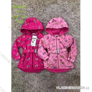 Kabát zimní s kapucí dětský dívčí (1-5 let) SAD SAD19KK1067
