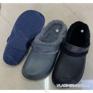 Pantofle nazouváky zateplené pánské (42-47) RISTAR RIS191801