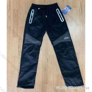 Kalhoty šusťákové zateplené flaušem dorost dívčí i chlapecké (134-164) SEZON SF-1821