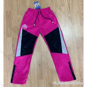 Kalhoty šusťákové zateplené flaušem dorost dívčí i chlapecké (134-164) SEZON SF-1822