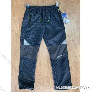 Kalhoty outdoor šusťákové zateplené flaušem dorost chlapecké (134-164) SEZON SF-1863