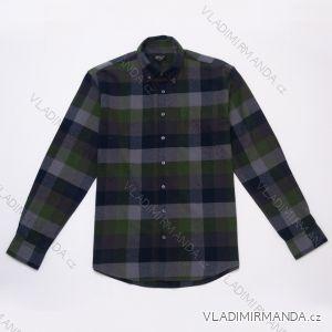 Košile dlouhý rukáv flanelová pánská (m-2xl) WOLF K2951