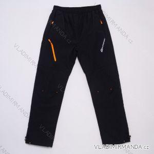 Kalhoty šusťákové zateplené flaušem dorost dívčí a chlapecké (134-158) WOLF B2975