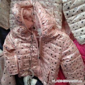 Bunda podzimní zateplená kojenecká dětská dívčí (1-5 let) ITALSKÁ MÓDA TM219138