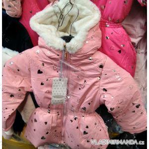 Bunda zimní dětská dívčí (98-128) ITALSKÁ MÓDA TM219139