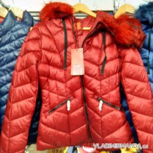 Bunda zimní s kožíškem dámská (S-XL) YES PINK IM919929